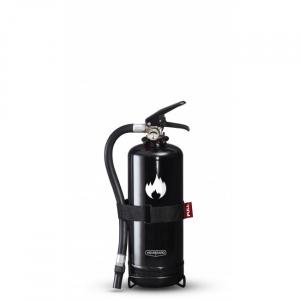 2 kg svart brandsläckare