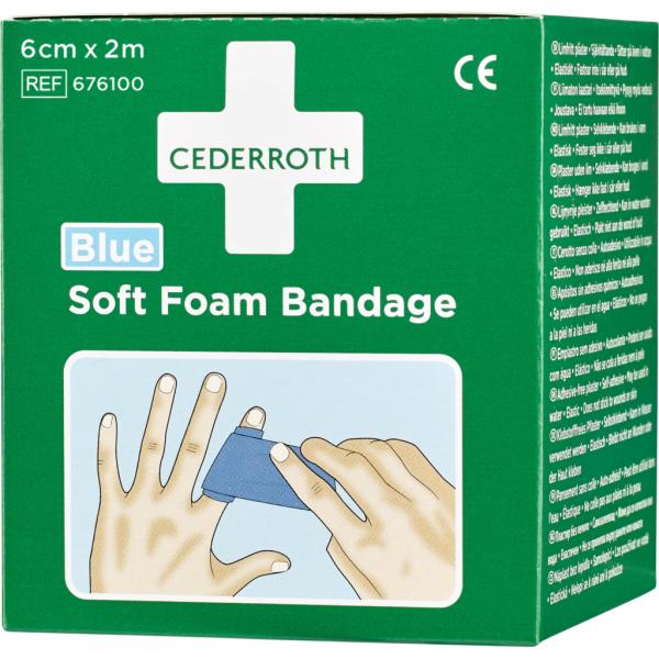 Plåster Cederroth Soft Foam Bandage