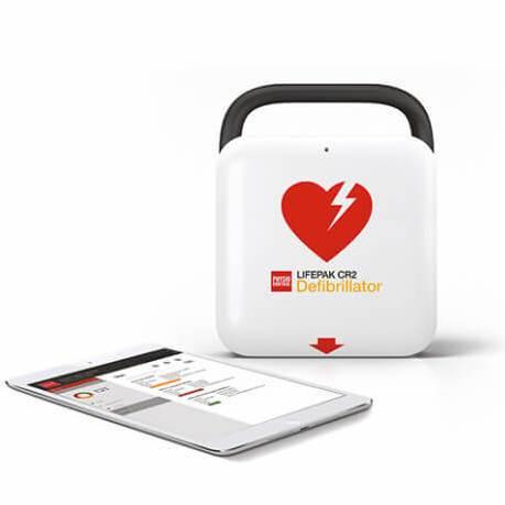 Physio control lifepack CR2 WI-FI + 3G + 2 språk