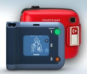 Philips hjärtstartare FRx med väska