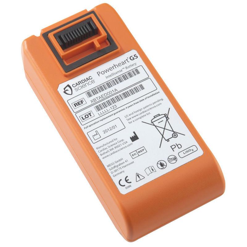 Batteri till g5 hjärtstartare