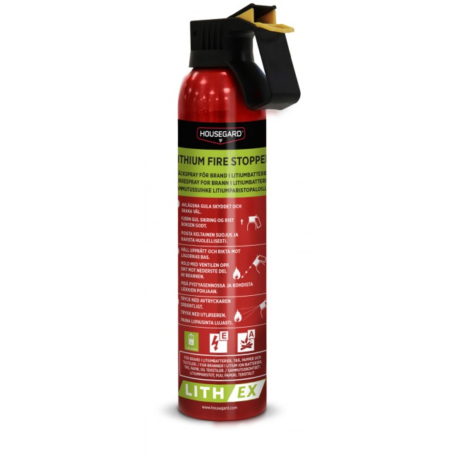 Lithium släckspray