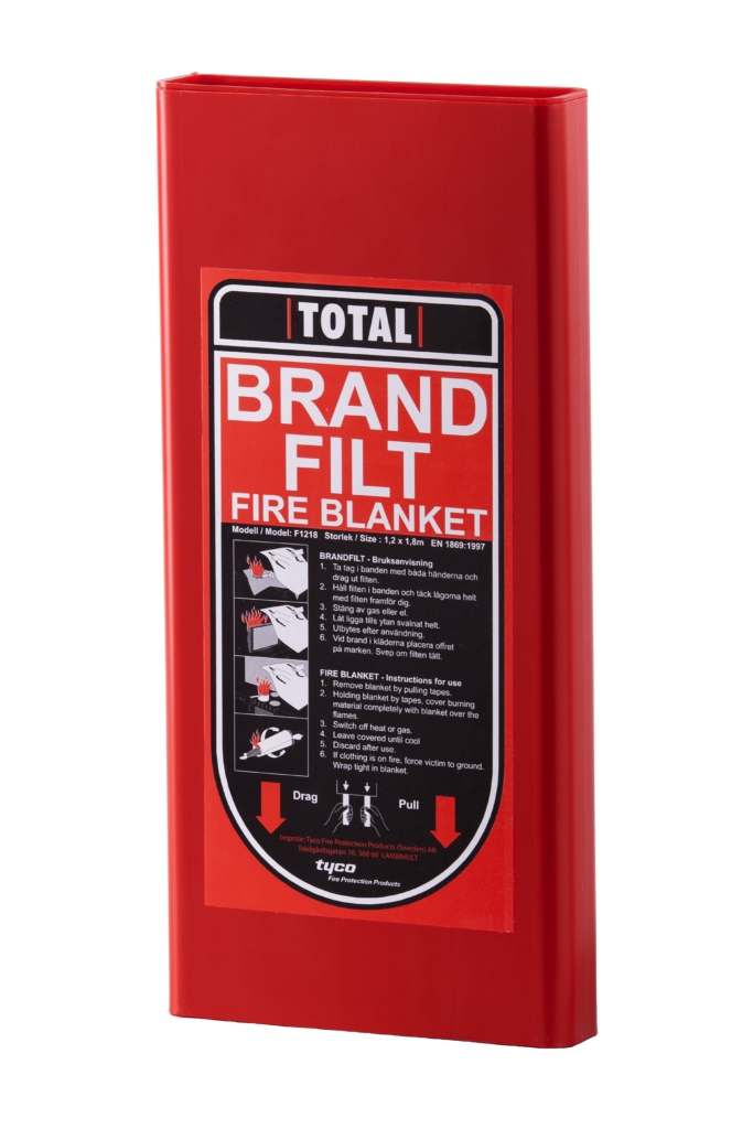 3-lagers brandfilt godkänd kraftig variant