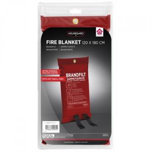 Housegard röd brandfilt
