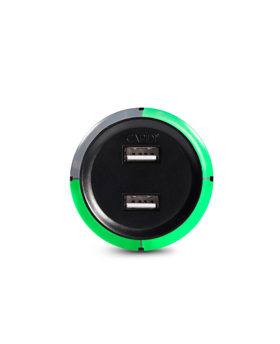 USB timer Svart | Usb, Vägguttag, Laddare