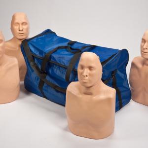Practi-Man HLR-docka 4 pack