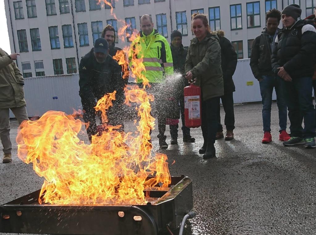 brandutbildning heta arbeten