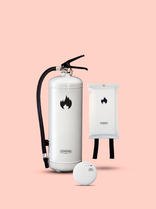 lilla brandskyddpaketet vit