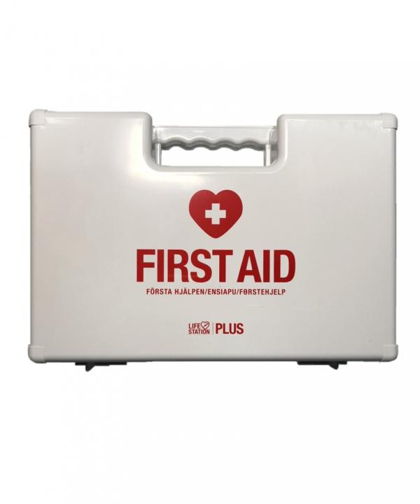 Första hjälpen väska -lifestation plus