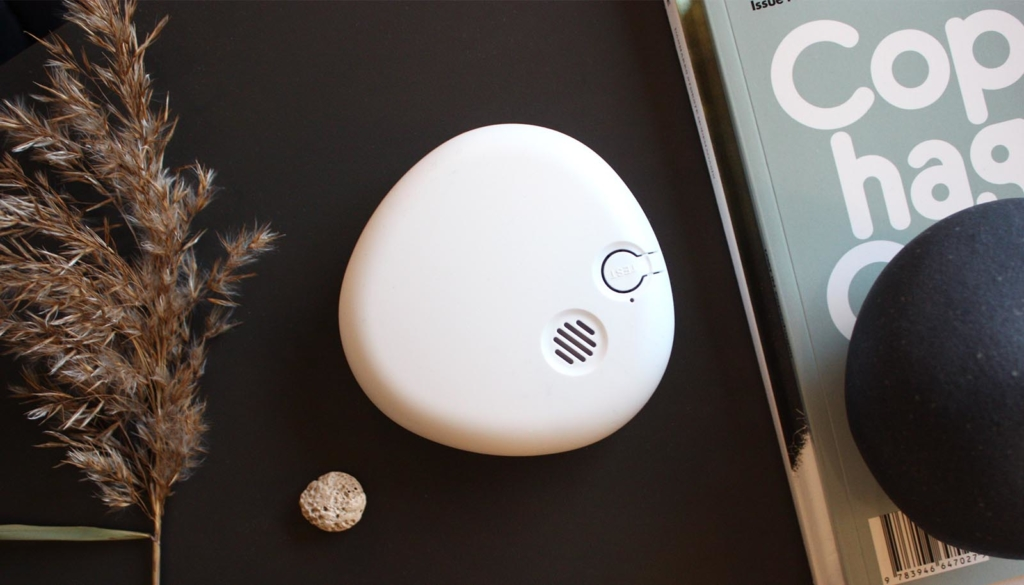 brandvarnare Pebble design - smoke alarm