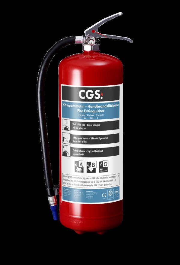 CGS 12 kg pulversläckare