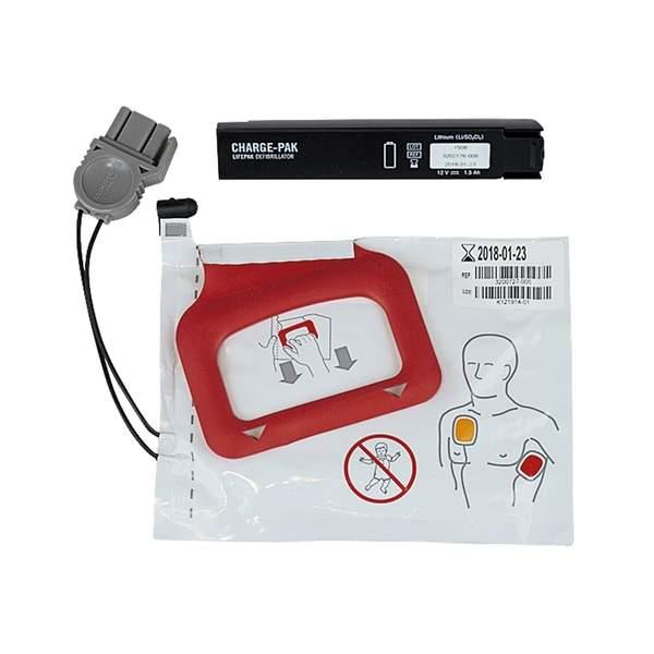 batteri -och elektrodpaket Lifepak CR plus